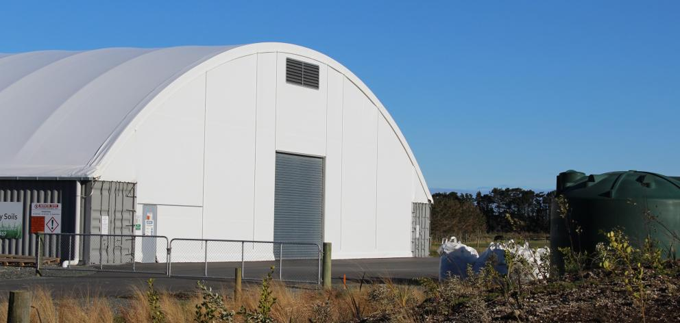 The Taha fertiliser factory at Awarua, south of Invercargill. Photo: Allison Beckham.