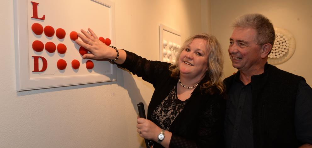 Innovative Braille art gift to wife | Otago Daily Times