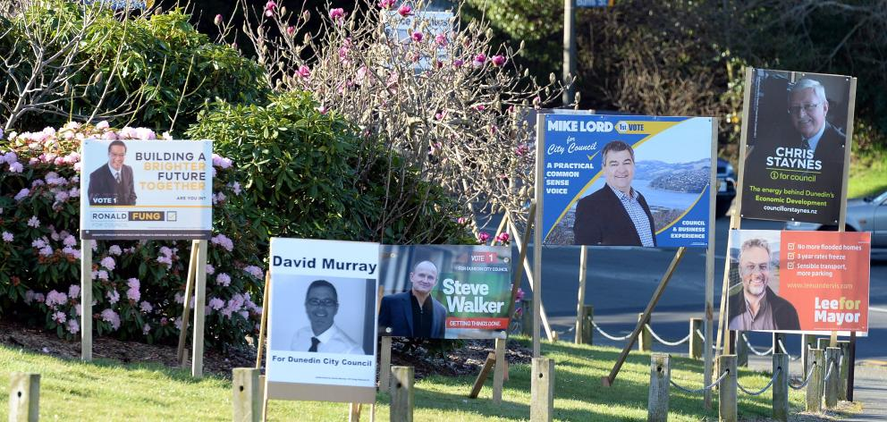 A proliferation of election signs, and a proliferation of signage argy-bargy, are an early...