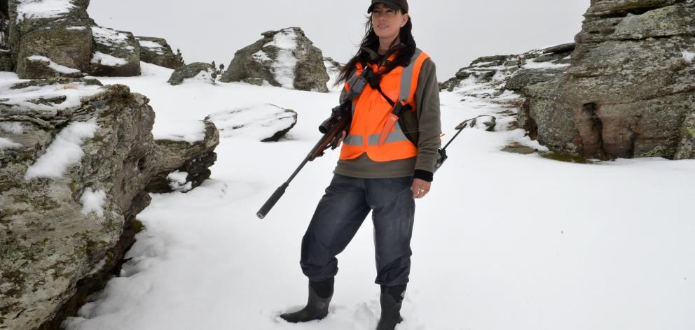 Department of Conservation Macraes Flat biodiversity operations manager Melanie Williamson on...