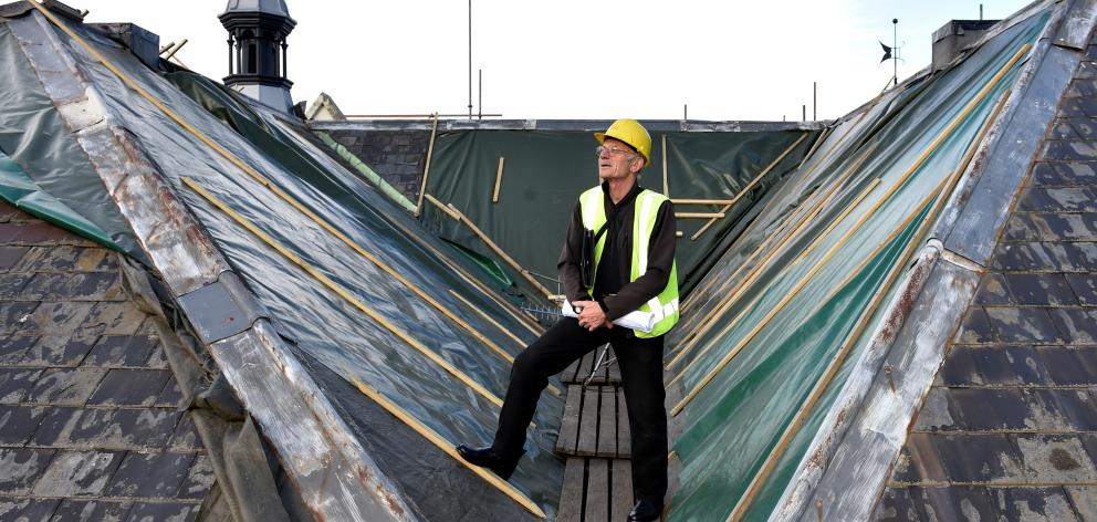 Dunedin architectural conservator and historic Dunedin  prison restoration project manager Guy...