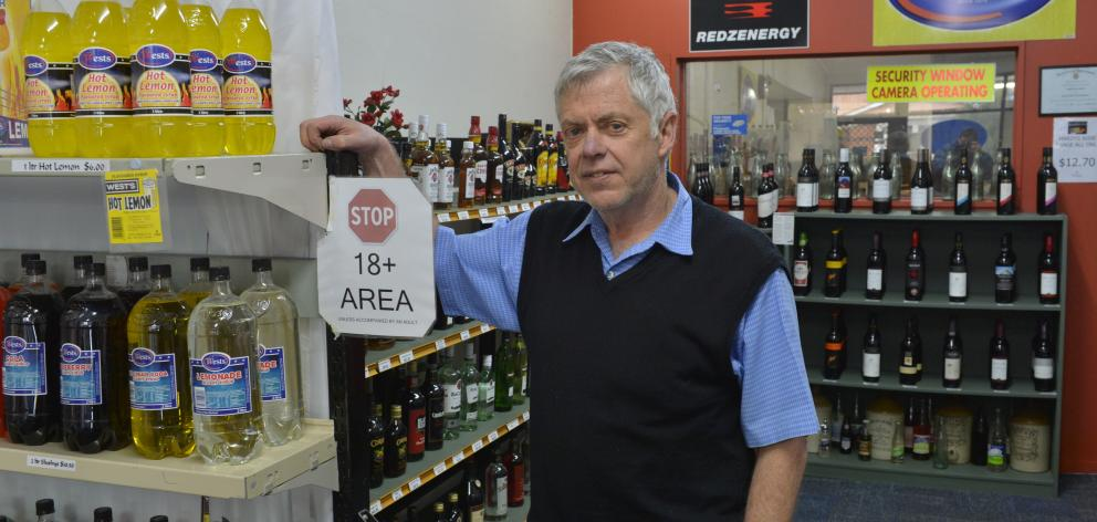 Wests (NZ) Ltd's director Alf Loretan is disappointed after the Dunedin business lost its liquor...