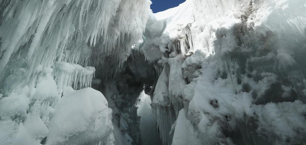 An American scientists and university professor dies after falling 30m into a crevasse in...