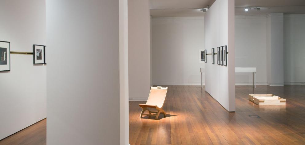 Blaine Western's ''Grammars'' exhibition.