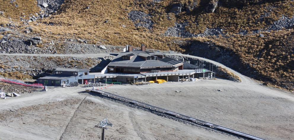 The Remarkables ski area former base building. PHOTO: NZSKI