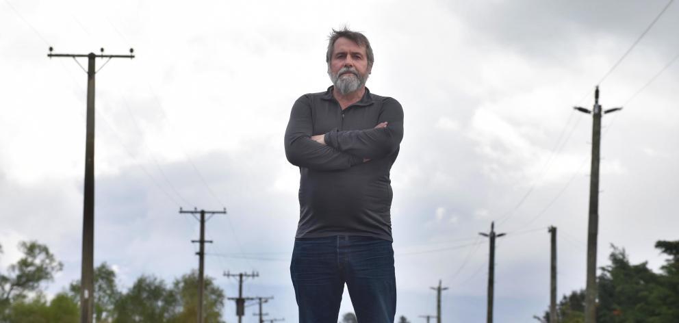 Former Delta employee Richard Healey. Photo: Craig Baxter.