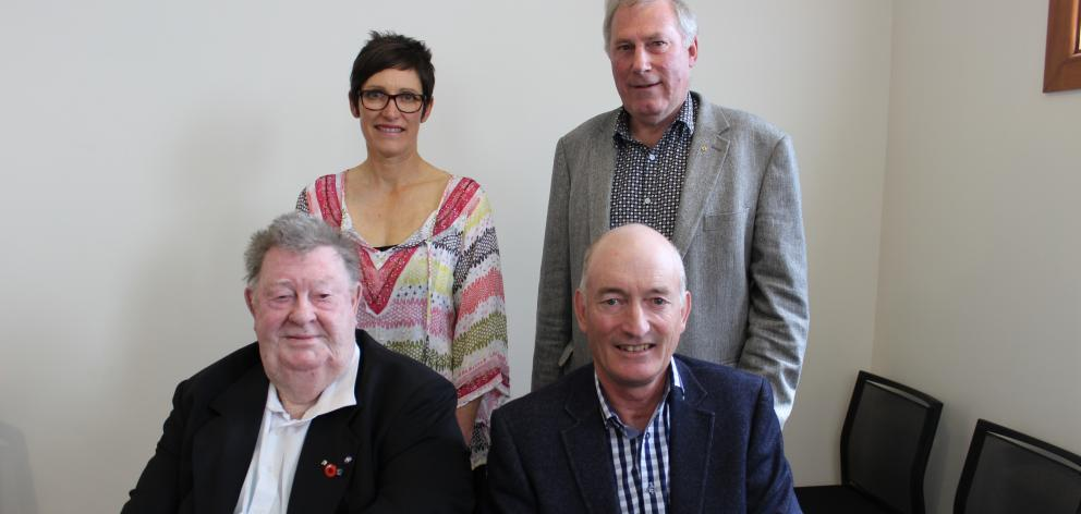 Teviot Valley Community Board members (clockwise from front left) Cliff Parker, Sally Feinerman,...
