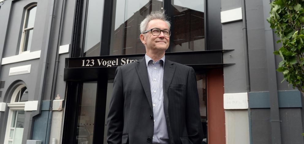 Signal ICT Graduate School governance board chairman David Band outside the school's Dunedin...