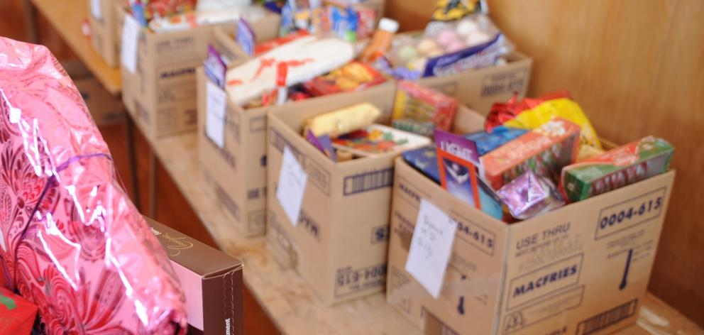 Christmas hampers are expected to be in high demand this year, the Salvation Army is launching an...