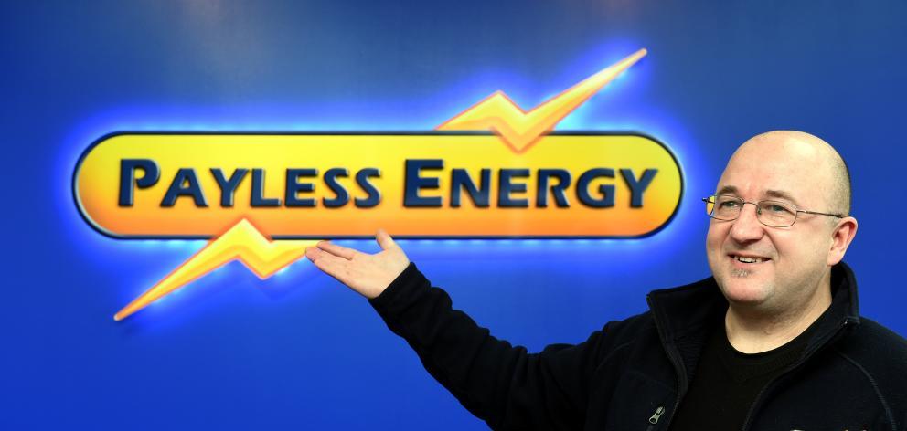 Radek Mierzejewski, from Dunedin's Payless Energy. Photo: Peter McIntosh.