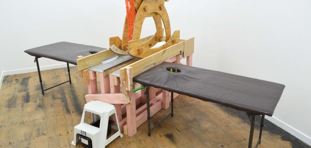 Rocking Horse Cutter (2016), by Daphne Simons.