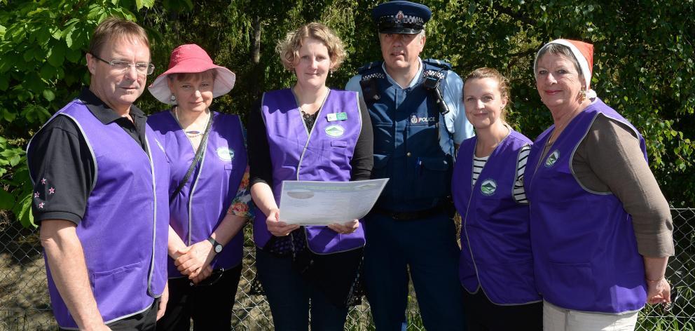 Greater Green Island Community Network members (from left) Steve Hayward, Dr Bronwyn Boon, Leanne...