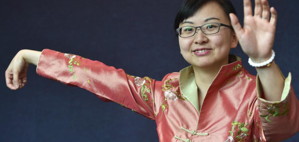 Breast cancer researcher Lizhou Liu has been given $80,000 to run a  t'ai chi exercise programme...