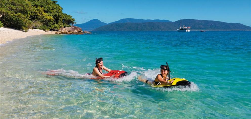 Snorkelling offers access to the amazing views underwater. PHOTO: TOURISM AND EVENTS QUEENSLAND