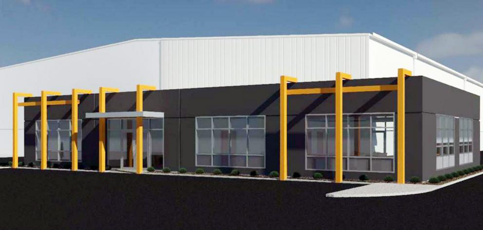 Calder Stewart is seeking consent for a new industrial warehouse and office building, as stage...