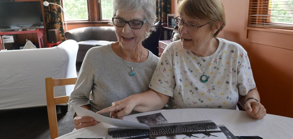 Ngaire Gardner (68, left), of Dunedin, and Claudine Adroit  (66), of France, have made a special...