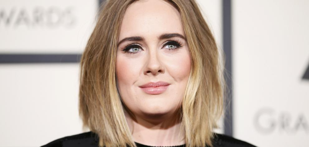 Adele. Photo: Reuters