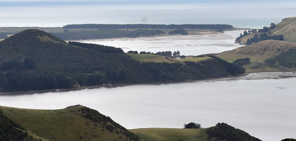 Hoopers Inlet. Photo from ODT files.
