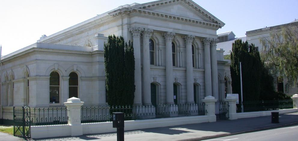 The Oamaru District Court.