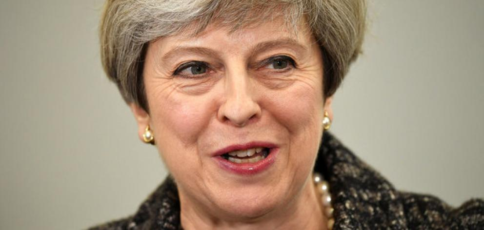 May said she needed the election to secure her own mandate and strengthen her hand for the Brexit negotiations ahead. Photo: Reuters