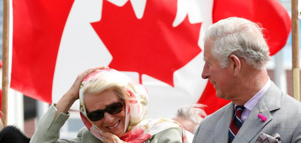 As Trudeau and Canada geared up for Canada Day festivities on Saturday, complete with fireworks and visits by Prince Charles and Bono. Photo: Reuters