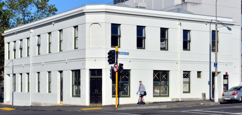 Captain Cook Tavern cnr Albany & Great King Sts. Photo: ODT.