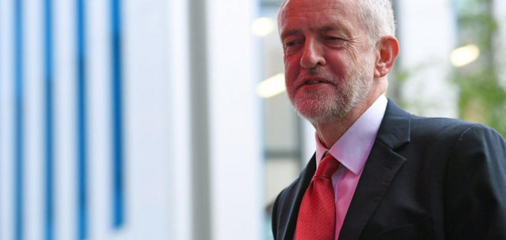 Corbyn set out a different approach to May, he was emphatic that he would leave the bloc with a...
