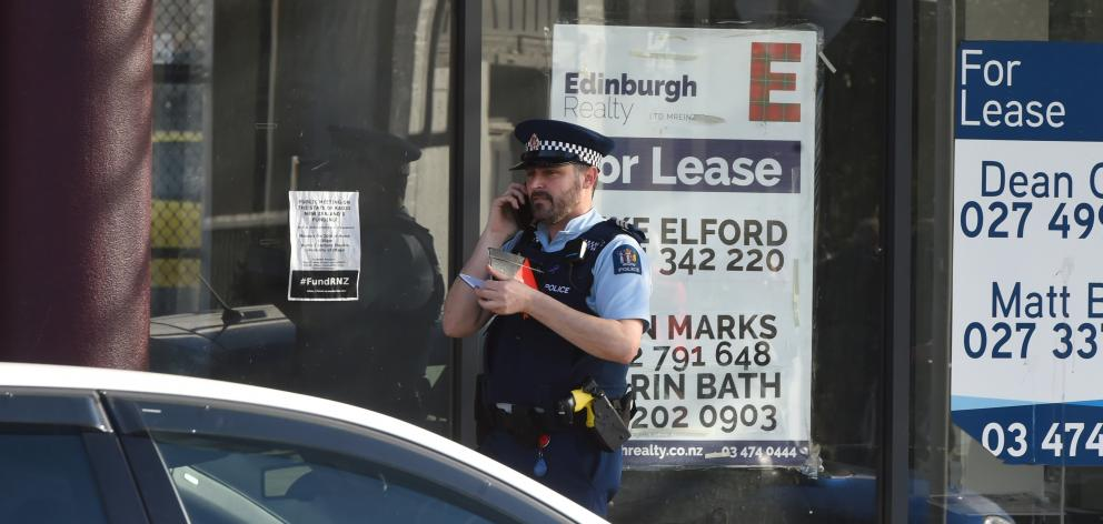 Much of the central city was evacuated and cordoned off for hours on June 16 as police assessed...