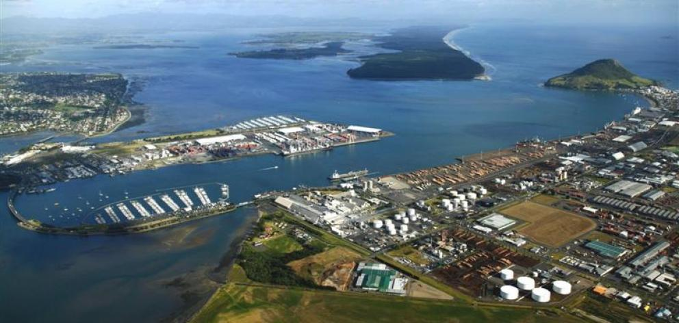 The Port of  Tauranga. Photo by Port of Tauranga.