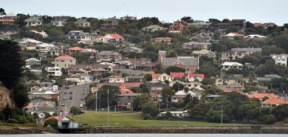 Otago has the slowest quarterly rate of median house price growth in New Zealand. Photo: Peter...