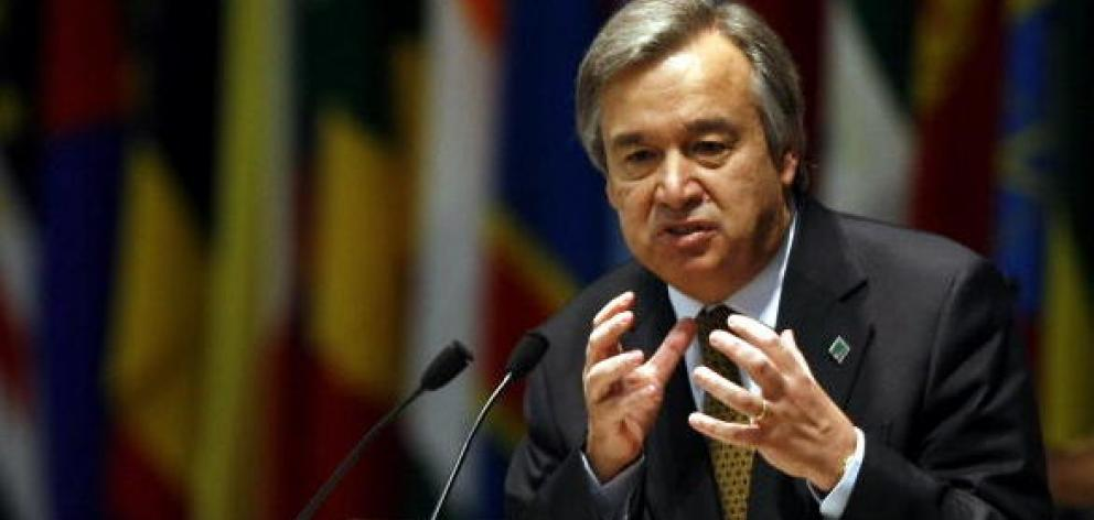 Antonio Guterres: 'The funds we are appealing for are a matter of survival for suffering Syrians....
