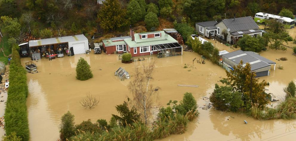 Residents needed to take all cautions and remain away from properties inundated at present. Photo: Stephen Jaquiery
