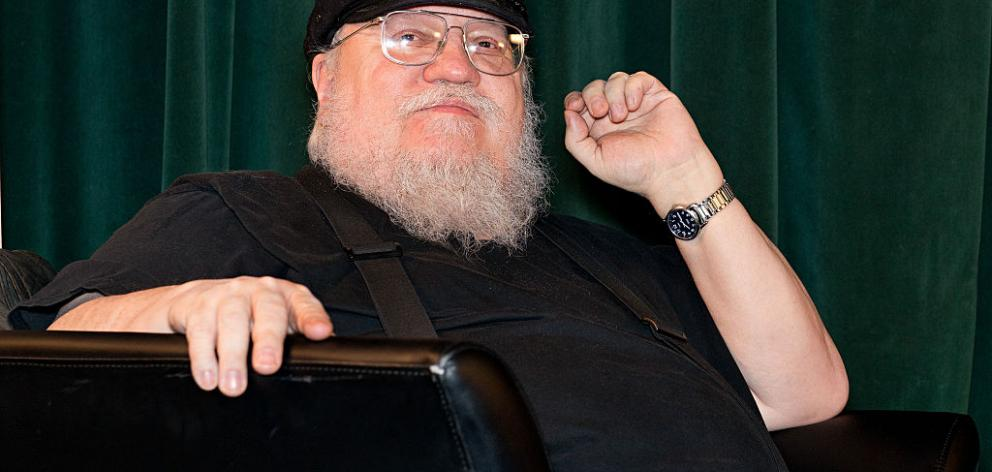 "Author George R. R. Martin has teased the next two novels in his popular 'A Song of Ice and Fire"" series could be out next year. Photo: Reuters"