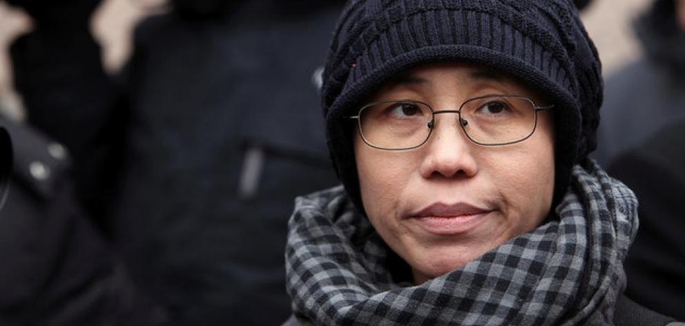 Liu Xia, the wife of Chinese dissident Liu Xiaobo. Photo: Reuters