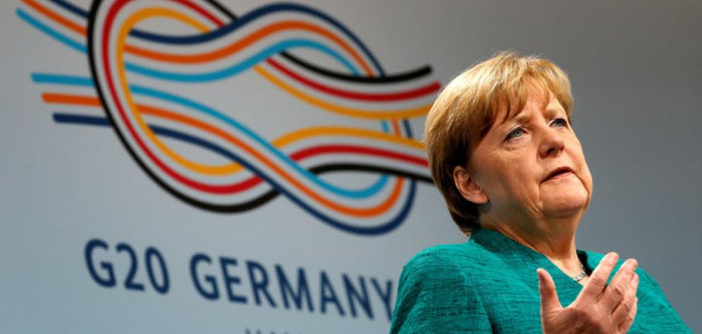 Seeking to limit the damage from the security problems before the parliamentary election, Merkel has promised compensation to Hamburg residents whose property was damaged.. Photo: Reuters
