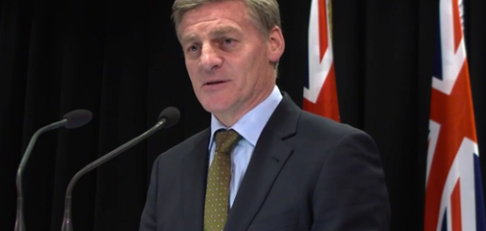 Bill English has spoken out against Auckland's housing plan. Photo: NZ Herald