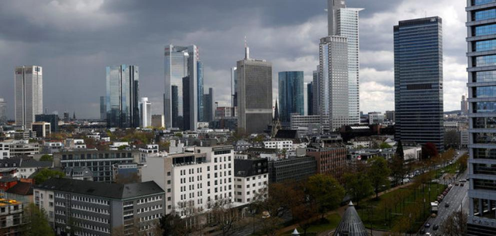 Germany's central bank, the Bundesbank, Frankfurt's Goethe University, and at least two hospitals will also be evacuated, in one of the largest evacuations in German post-war history. Photo: Reuters