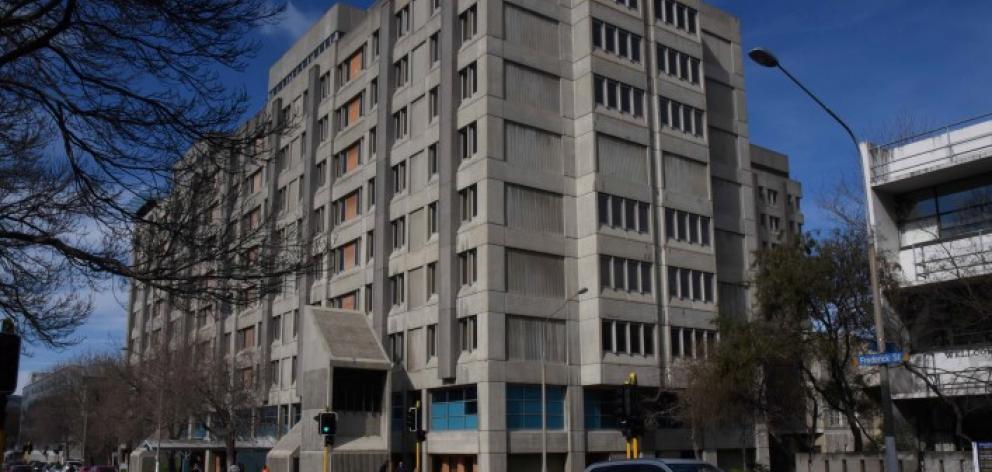The Dunedin Hospital. Photo: ODT.