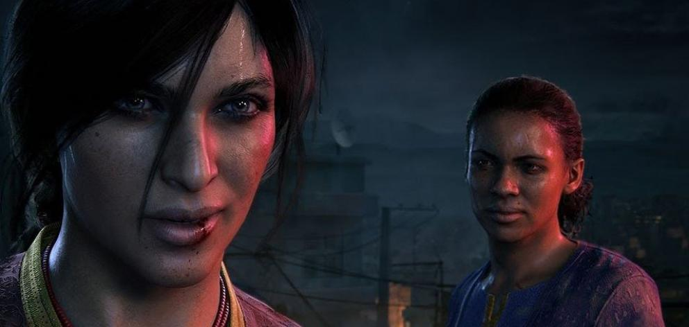 Gone is Nathan Drake, and in his place we have the dynamic duo of fan favourite Chloe Frazer (who features prominently in Uncharted 2 and 3), and Nadine Ross (from Uncharted 4). Photo: Supplied