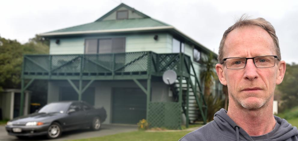 Dunedin landlord Vic Inglis is ''pretty dark and twisted'' after his former tenant from a Luke St...