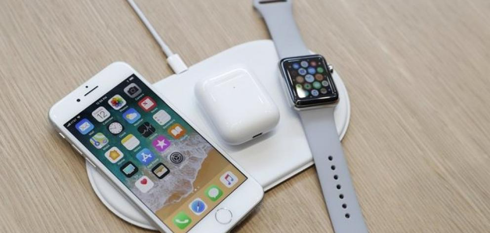 An AirPower wireless charger. Photo: Reuters