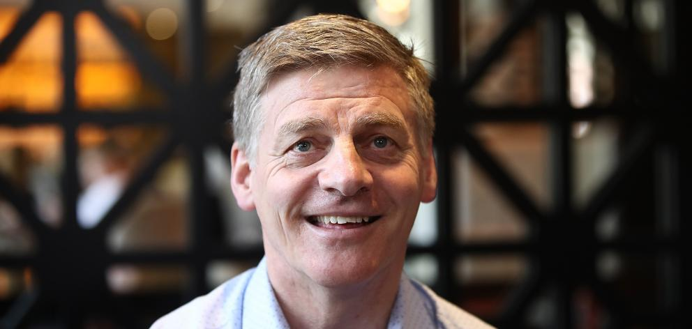 Bill English, waiting... Photo: Getty Images