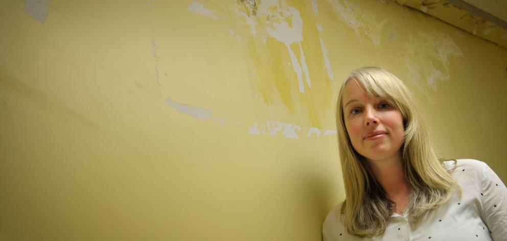 Dr Caroline Shorter, research fellow at the University of Otago's Wellington campus, in a room...