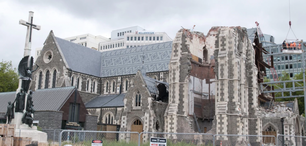 The Synod was deciding between restoration, gifting the building to the Government, or demolition...