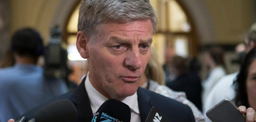 PM Bill English has announced new super changes. Photo: NZ Herald