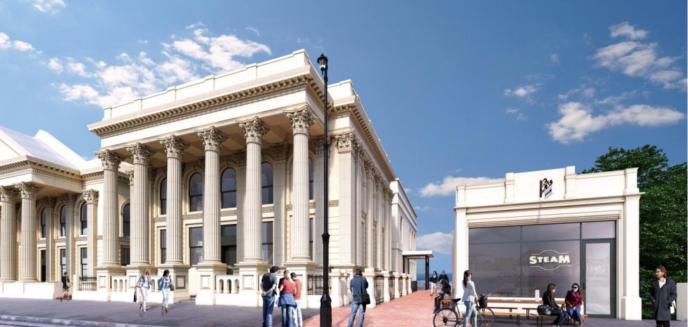 Forrester Gallery: Alternative Entrance Design - McKenzie Architects.