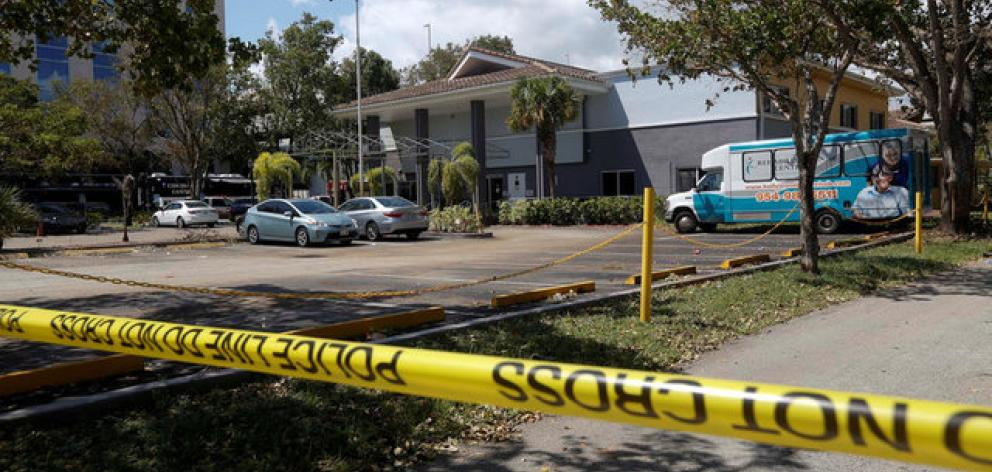 Police opened a criminal investigation at the Rehabilitation Center north of Miami, where three elderly residents were found dead at the facility and three later died at a nearby hospital. Photo: Reuters