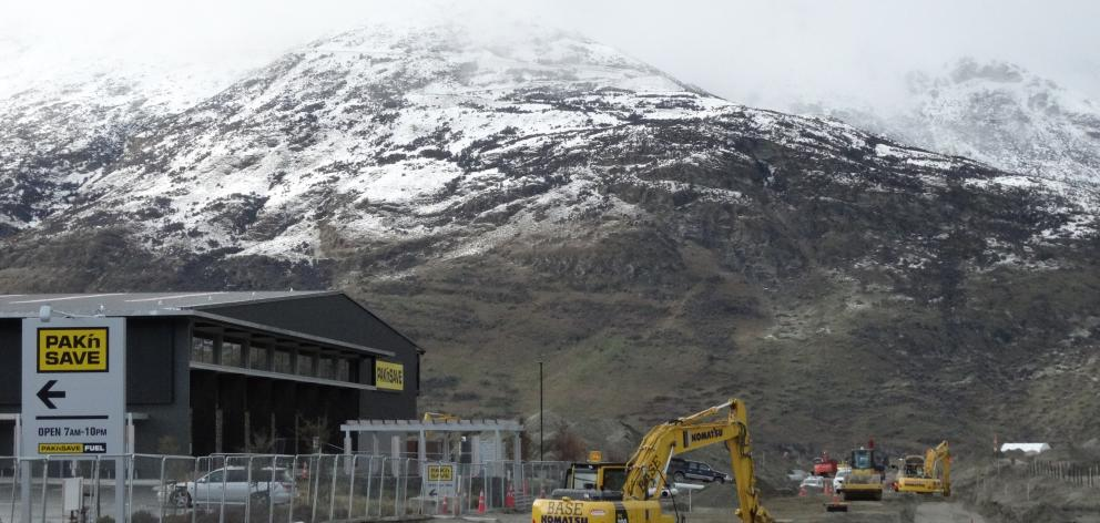 The final section of the Hawthorne Dr extension between Pak'n Save and Remarkables Park is...