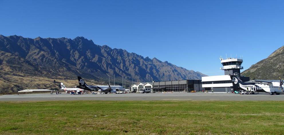 Queenstown Airport. Photo: Tracey Roxburgh