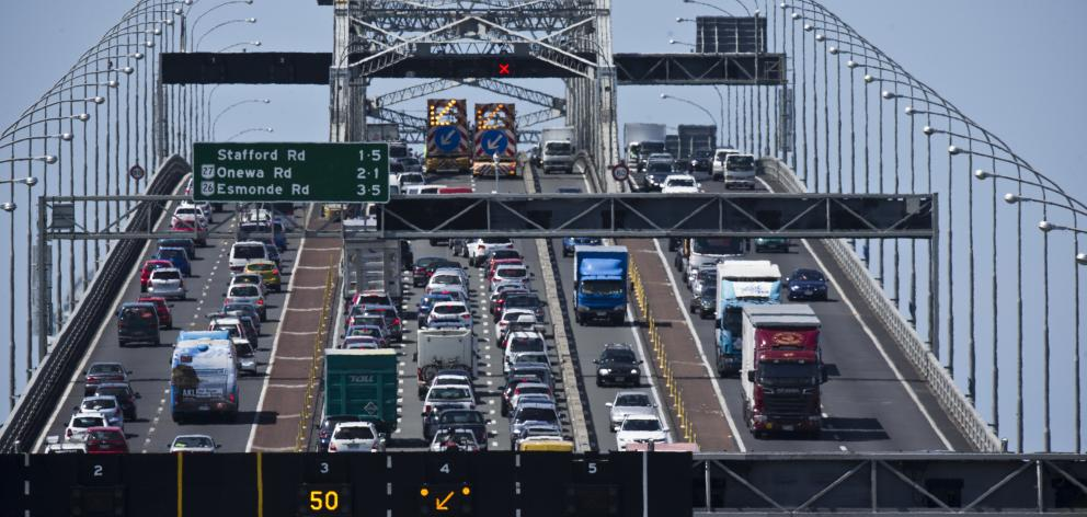 National refused to introduce the tax, campaigning against its introduction during this year's general election, but instead eyeing road charges to help tackle Auckland's crippling congestion. Photo: NZ Herald